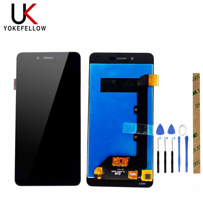 LCD Display For Highscreen Easy S LCD Display Digitizer Screen Complete AssemblyMobile Phone LCD Screens   -