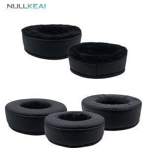 Image 1 - NULLKEAI استبدال رشاقته وسادات الأذن ل Bluedio T3 T3Plus T3 زائد سماعات رغوة الذاكرة غطاء للأذن وسادة