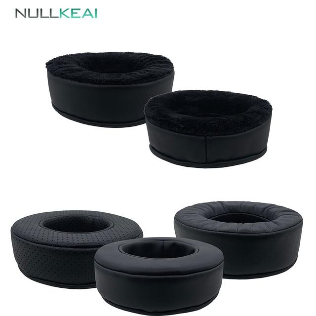 NULLKEAI استبدال رشاقته وسادات الأذن ل Bluedio T3 T3Plus T3 زائد سماعات رغوة الذاكرة غطاء للأذن وسادة