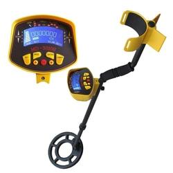 Crianças de pouco peso handheld detector de metais gold digger caçador de tesouros rastreador seeker com bobina de pesquisa à prova dwaterproof água