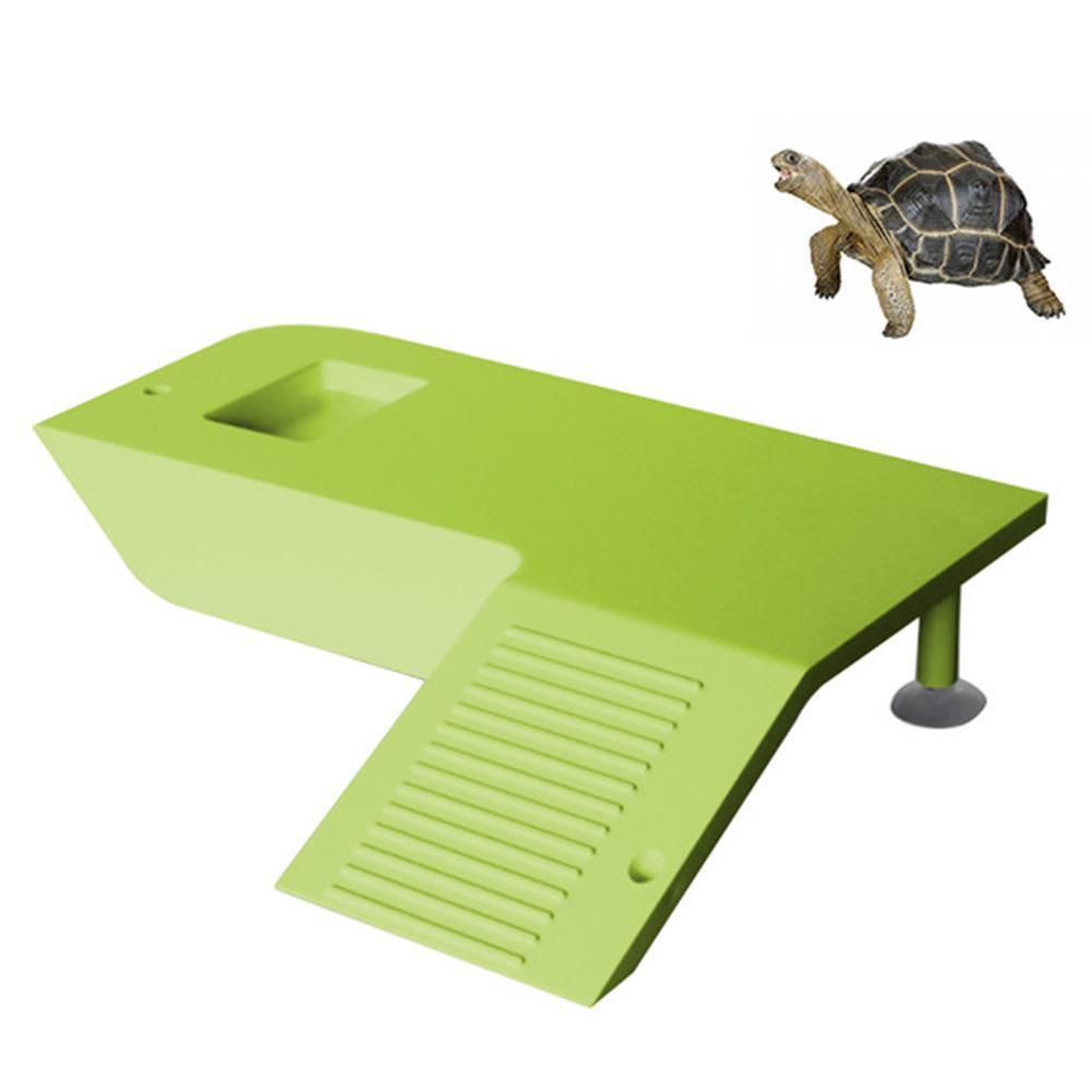 Turtle Frog Floating Island Aquatic Pet Reptile Supplies Aquarium Ornament Turtle Pier Reptile Habitat 30*23*5cm
