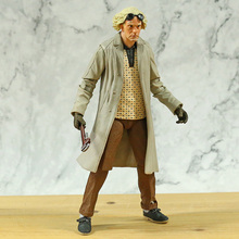 Toy Action-Figure Mcfly Doc Brown Neca Marty Back-To-The-Future Almanac-Collection Biff