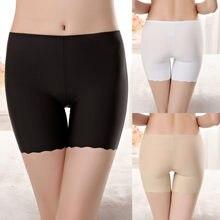 2020 confortável roupa interior calças femininas sem costura de segurança calças curtas cuecas boxer femme sans couture # j05