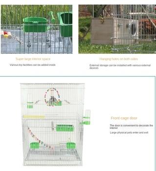 Large Bird Cages for Parrots Parakeet Octopus Metal Birdhouse Heightened Breeding Cage Bird Kages Bird Nest Pigeon Supplies 1