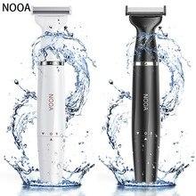 NOOA Electric Men Shaver Razor Blade body Hair Eyebrow bikini Trimmer for women Epilator Trimmer female shaving & hair removal