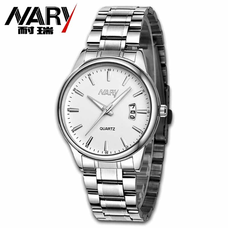 Nary Luxury Brand Watches Man Watch Waterproof Quartz Stainless Steel Men's Watches Fashion Casual Wristwatch Relogio Masculino