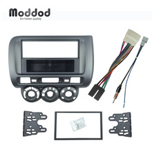 Fascia Cd-Radio Honda Jazz Frame Installation-Kit Dashboard Stereo-Panel City Din One