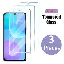 Закаленное стекло 3 шт. для Huawei Y7 2019 Y6 Y5 Y9 Y6P Y5P Y6S Y8P Y9S Prime, Защита экрана для Huawei P30 Lite P20 P40 Pro, стекло