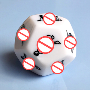 1 Pcs Dice Fetish Massage Funny Sex Dice Sexy Romance Erotic Craps Pipe SM Toy For Couples Adult Games Exotic Accessories