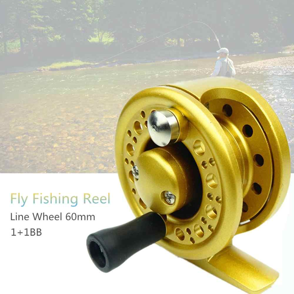 Fly Fish Reel Former Ice Fishing Wheel 1+1BB Saltwater Reels Freshwater Tackle