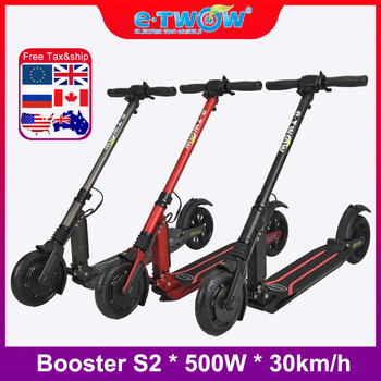 ¡Novedad de 2020! scooter verelectric de 500W etwow trotinette e twow s2 booster S2, mini smart para adultos con pantalla a color plegable