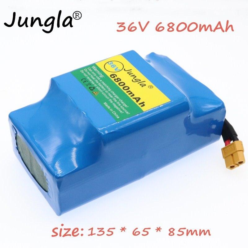 36V 6.8AH 6800mAh avec le débit élevé d'énergie 2 roues 10S2P batterie de lithium de scooter d'équilibrage électrique pour l'ajustement 6.5 d'auto-équilibrage