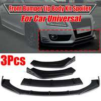 New Universal Car Front Bumper Splitter Lip Body Kit Spoiler Diffuser For Audi A5 Sline S5 RS5 09 16 For BMW For Benz For Mazad