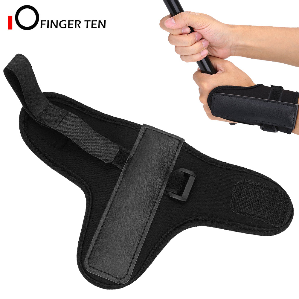 Breathable Driving Range Golf Swing Wrist Brace Band Training Correct Aid Protector Support For Beginner Practice
