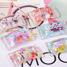 10 Pcs Crystal Candy Addition for Slime Fluffy Accessories Charms Antistress DIY Bead Toys Soft Modeling Clay