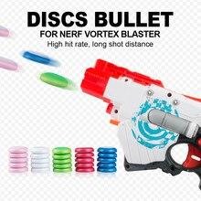 25 pçs recarga discos bala para nerf vortex blaster praxis nitron nitem proton para nerf série blasters natal criança crianças presente