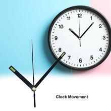 Бесшумные настенные часы бесшумное движение комплект часов механизм части с часами руки настенные часы Diy запчасти для ремонта украшения дома