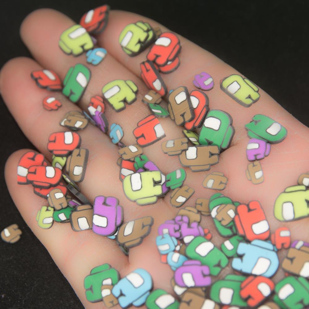 Робот машина Man Форма полимерные глиняные ломтики красочные посыпка для слипы из наполнитель ручной работы чехол для телефона «сделай сам»