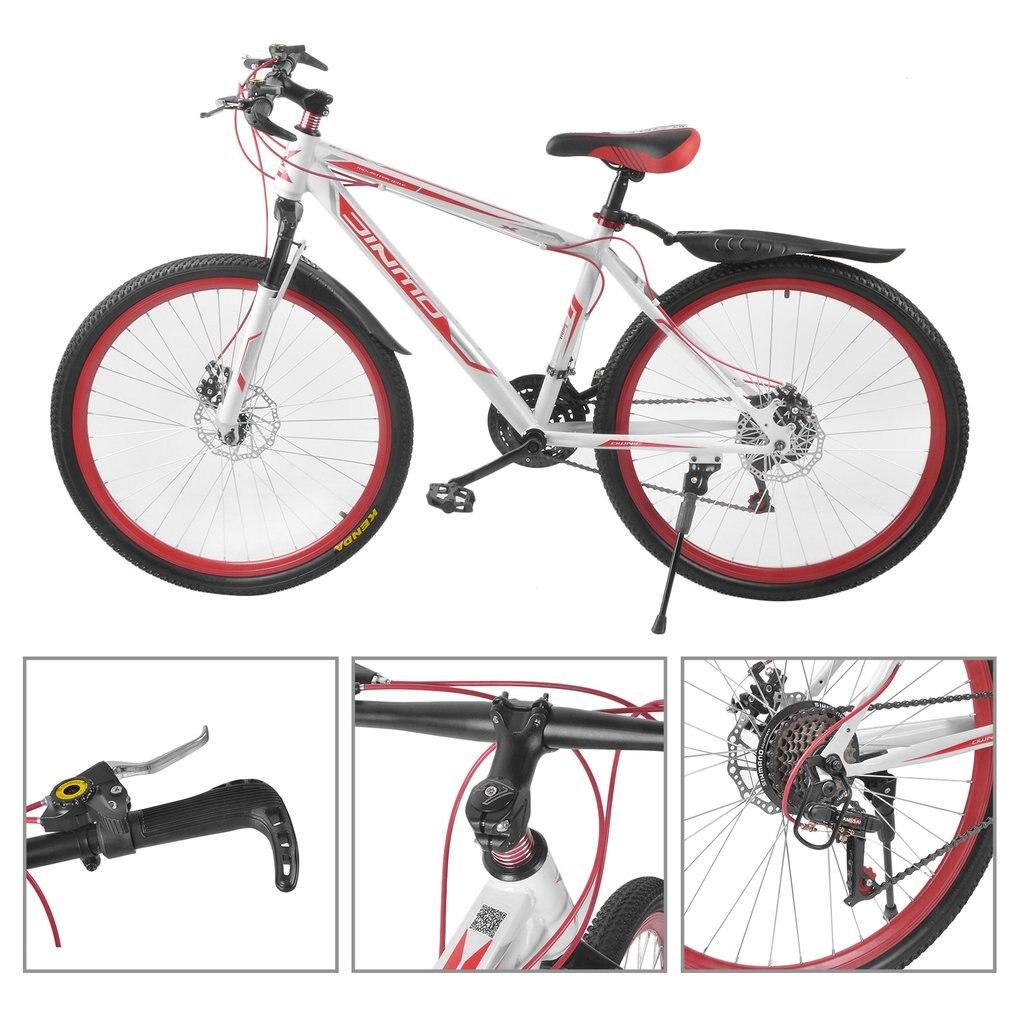 26 дюймов X 17 дюймов передний и задний дисковый велосипед 30 круг горный велосипед с переменной скоростью MTB дорожный гоночный велосипед