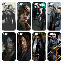 Hot The Walking Dead Daryl Dixon Soft TPU Mobile Phone Cases Cover for