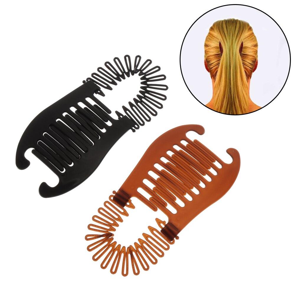 New Big Size Flower Retro Hair Claws For Hair Claws Clip Fish Shape Banana Barrettes Hairpin Crab Metal Hair Hair Accessories
