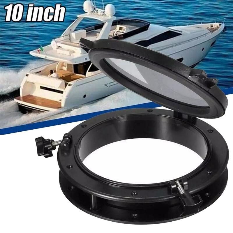 10 Inch RV Boat Yacht Round Portlight Window Accessories