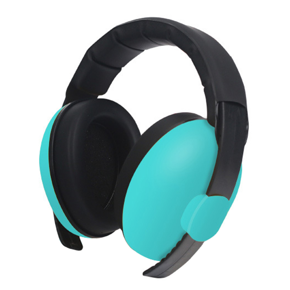 Ear Hearing Protection Ergonomic Concert Safety Sound Noise Cancelling Baby Earmuffs Slow Rebound Sleep Light Weight Boys Girls