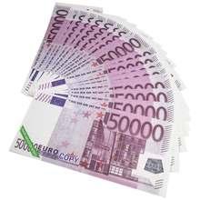 Papel de el infierno-billetes de banco. Accesorio de moneda. ¿Ancestro? Euro (€ 50000)