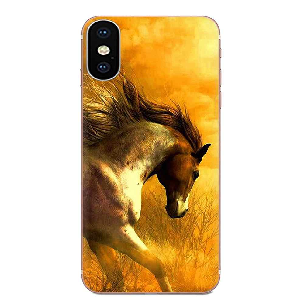 ل شياو mi الأحمر mi mi 4 7A 9T K20 CC9 CC9e ملاحظة 7 9 Y3 SE برو رئيس الذهاب اللعب TPU الهاتف غطاء حالة كابا الحصان الحيوان