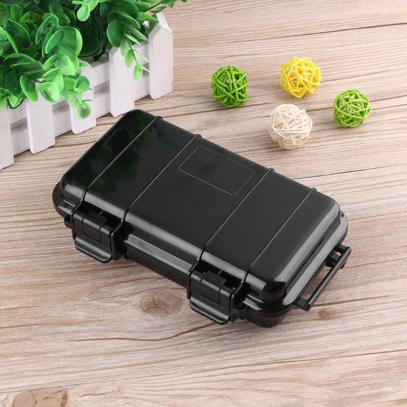 Outdoor Shockproof Dry Box Protection Waterproof Boxes Tool Matches Case Holder For Storage Tools Travel Sealed Container