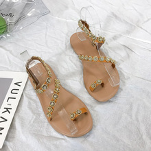 цены Summer Sandals Women T-strap Flip Flops Thong Sandals Designer Elastic Band Ladies Gladiator Sandal Shoes Zapatos Mujer