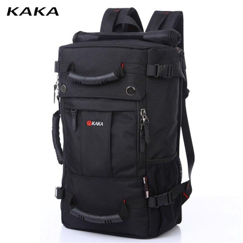 KAKA décontracté Fashion sac de voyage chaud hommes sac à dos ordinateur sac grande capacité résistant à l'usure Oxford sac européen et américain-in Sacs à dos from Baggages et sacs    1