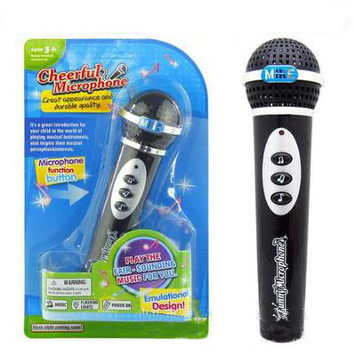 Microphone Kids Girls Boys Microphone Mic Karaoke Singing Kid Funny Gift Music Toy Teclado Musical Instrumento Musical Free Ship