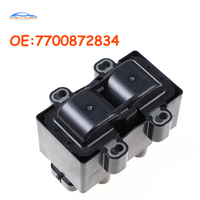 7700872834 For Renault Clio II Megane Scenic Kangoo Twingo Thalia 1.2 1.4 1.6 2526151A 7700274008 224336135R Ignition Coil Car