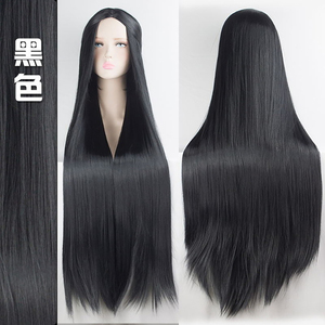 Image 5 - MUMUPI Cos Wig Blonde Red Pink Grey Purple Hair for Party 100CM Long Straight wigs Synthetic cosplay Wig for black Women