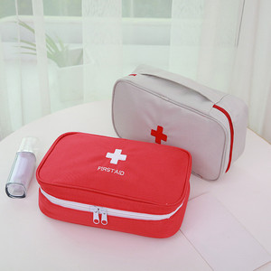 Image 3 - 휴대용 응급 처치 키트 응급 가방 방수 자동차 키트 가방 야외 여행 생존 키트 빈 가방 23*13*7.5cm