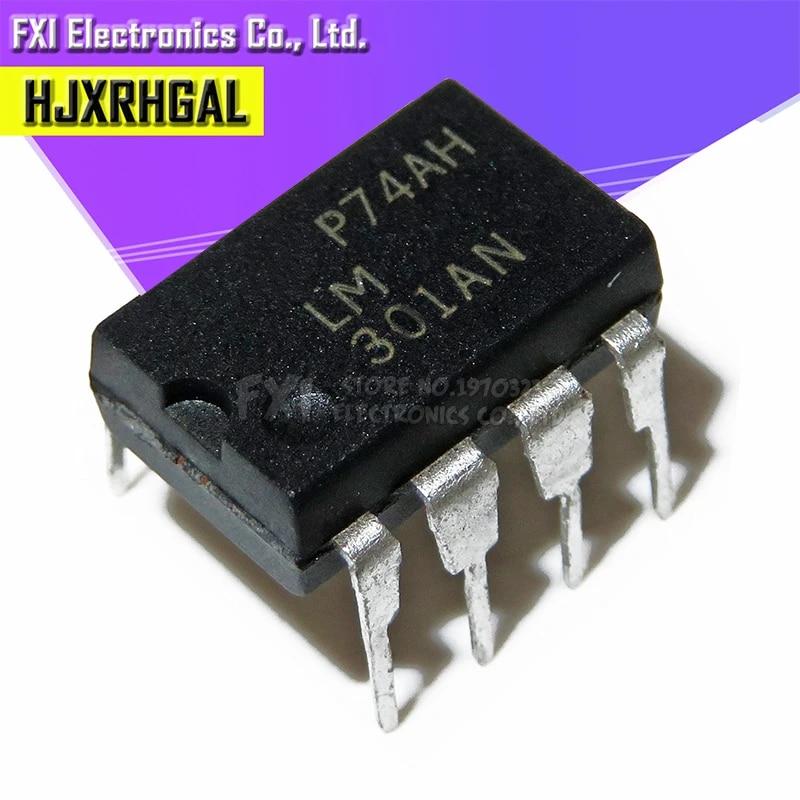 10pcs LM301AN LM301A LM301 DIP-8