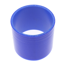 Silicone High Temperature 4-Ply Reinforced Straight Coupler Hose, 0.3Mpa to 0.9Mpa Working Pressure, 3 inch Length, 2 inch ID