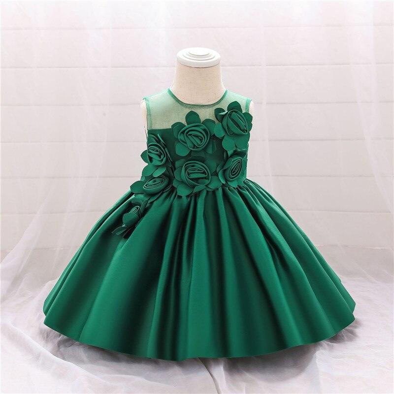 Princess Kid Baby Dress For Girls Lace Tutu Wedding Elegant Pageant Party Dress Christening Dress Children Clothes