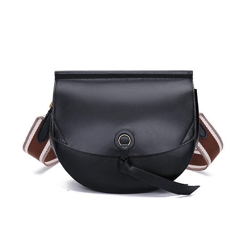 Крутая женская сумка 2019 новая стильная хипстерская художественная маленькая круглая сумка модная деликатная простая универсальная женска...
