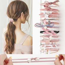 Girls Pearl Stretch Hair Ties