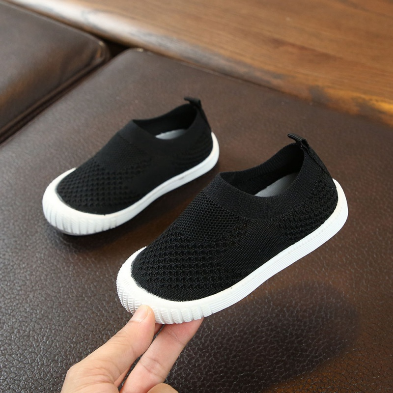 Baby Shoes Casual Shoes Boys And Girls Shoes Candy Color Non-slip Wear-resistant Breathable One Foot Single Shoes