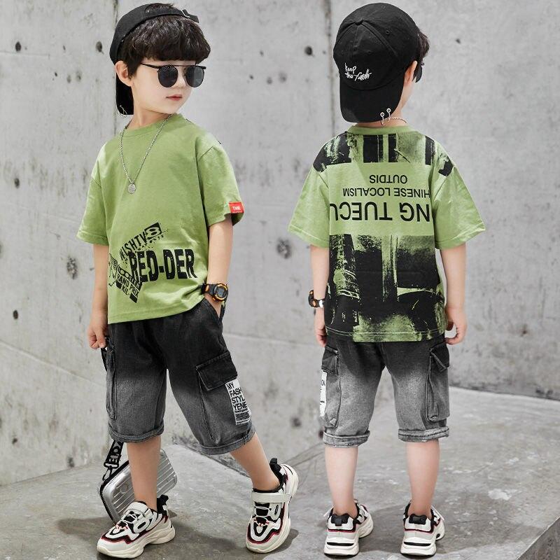 Boys' Summer Sports Clothing-Sets