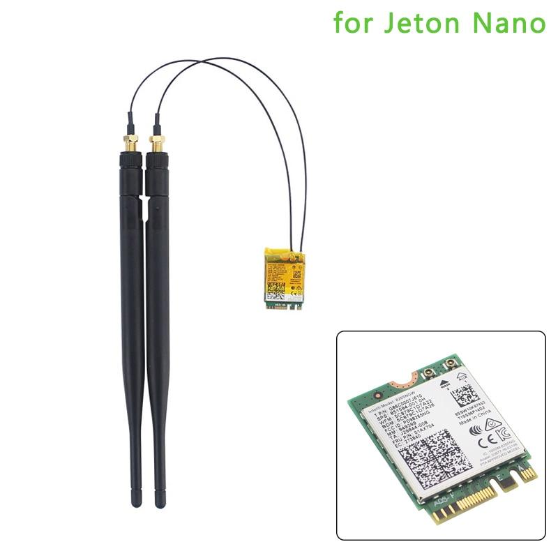 8265NGW Dual Mode 2.4G/5Ghz Wifi Bluetooth Wlan Wireless-AC 8265 NGFF 867Mbps 2x2 MU-MIMO WiFi BT 4.2 Card For Jetson Nano