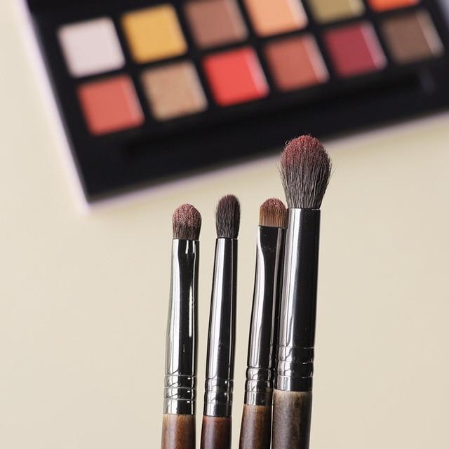 OVW Eyeshadow Brush Set kist' dlya teney Medium Blending Brush Small Precision Pointed Shader Tapered Smudge Makeup Brush Kit 1