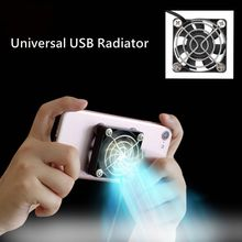 Universal Mobile Phone Cooler USB Cooling Pad Cooler Fan Portable Gamepad Game Gaming Shooter Mute Radiator Controller Heat Sink