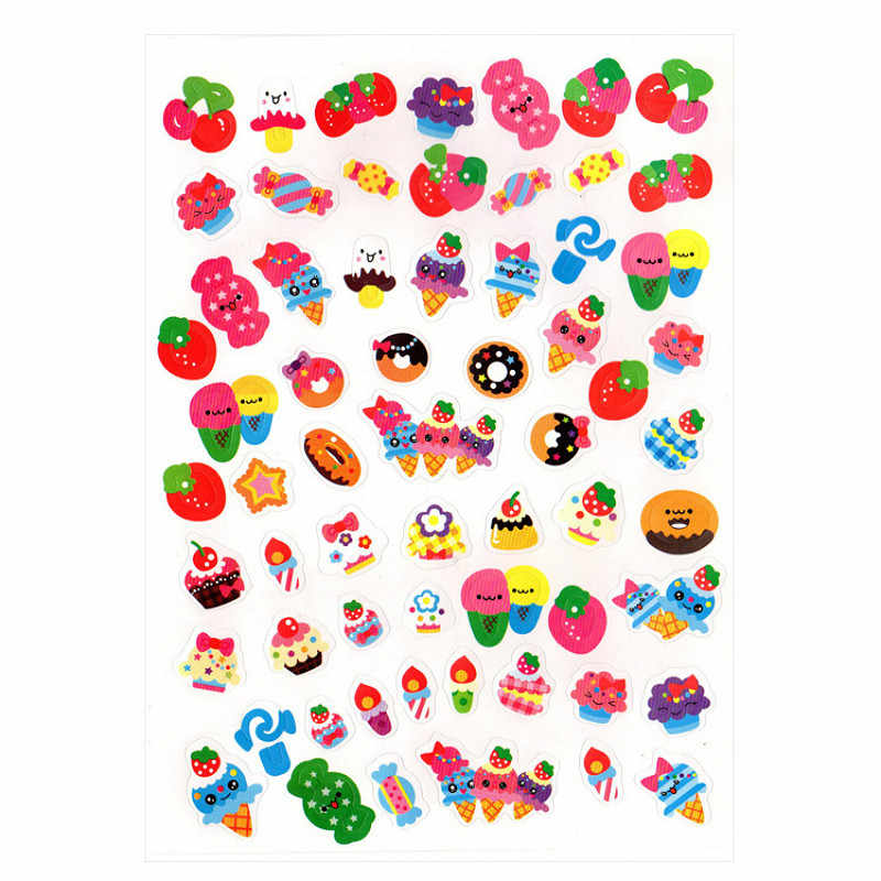 1 Sheet Fruits Toy Sticker Mixture Stickers Doodling Travel DIY Stickers On The Car Motorcycle Luggage Laptop Bike Scooter