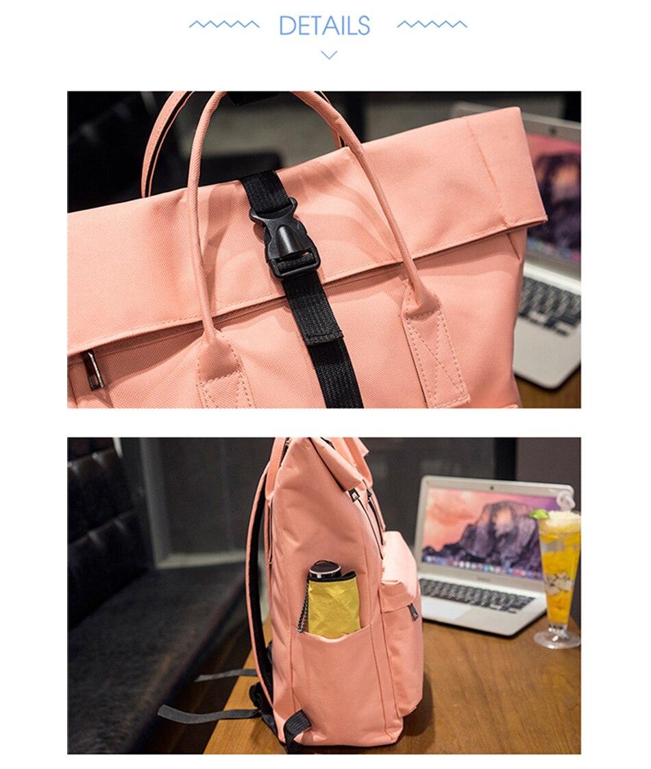 H9e6a302c45034e3c81ccd21f3d0cb85eW TTOU Women External USB Charge Backpack Canvas School Backpack Mochila Escolar Girls Laptop Backpack