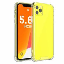 Anti-fall TPU Phone Case For iPhone 11 11Pro Max Transparent Protection Back Cover