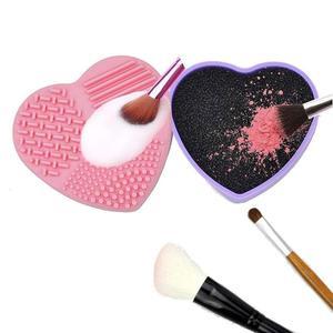 Силиконовая Кисть для макияжа, очиститель спонж для удаления косметики, кисть для теней, инструмент для удаления цвета губки, быстро снимае...